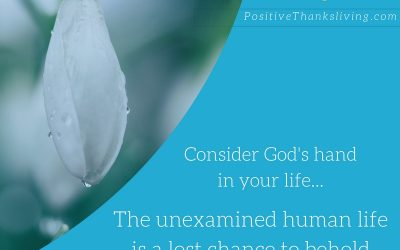 Consider God's Hand in your Life