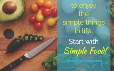 Start with Simple Food