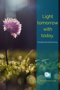 Be wise with your hours and mintues - Light tomorrow with today.