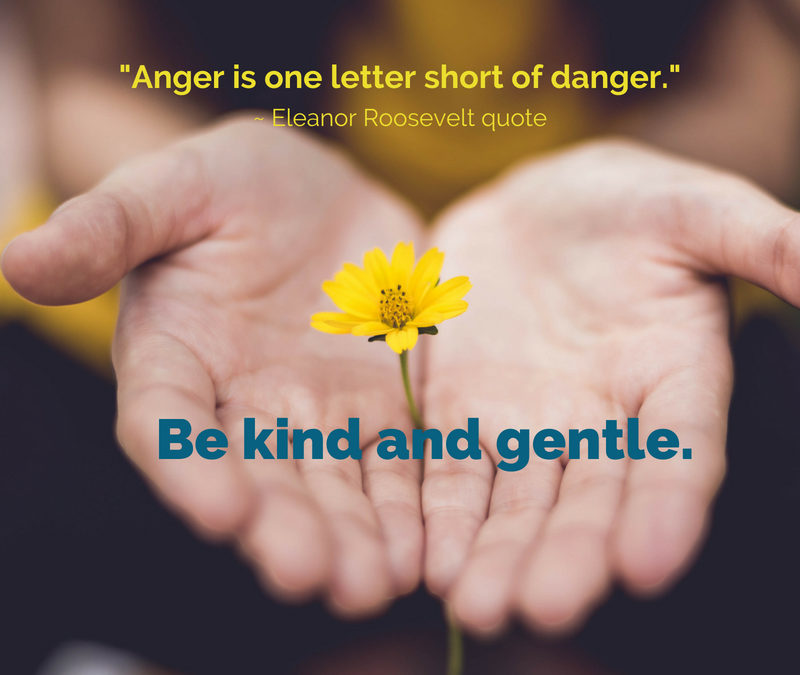 Anger is one letter short of danger.
