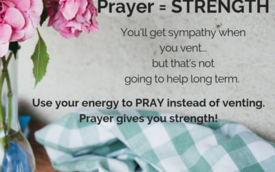 Prayer Provides Strength