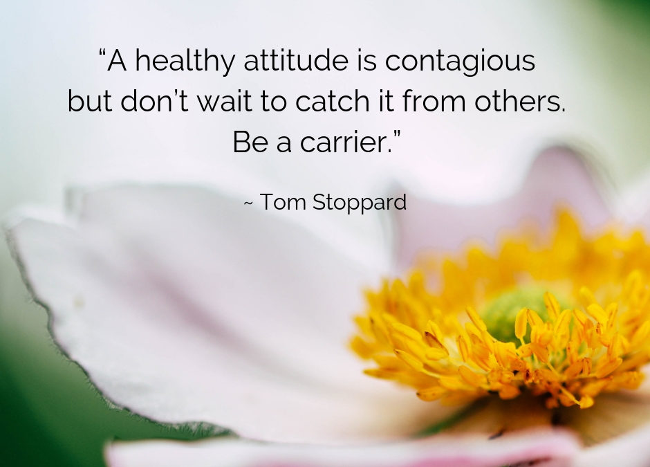 Positivity is Contagious