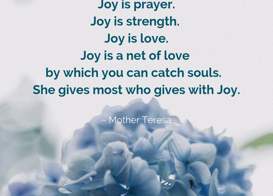 Who Gives with Joy