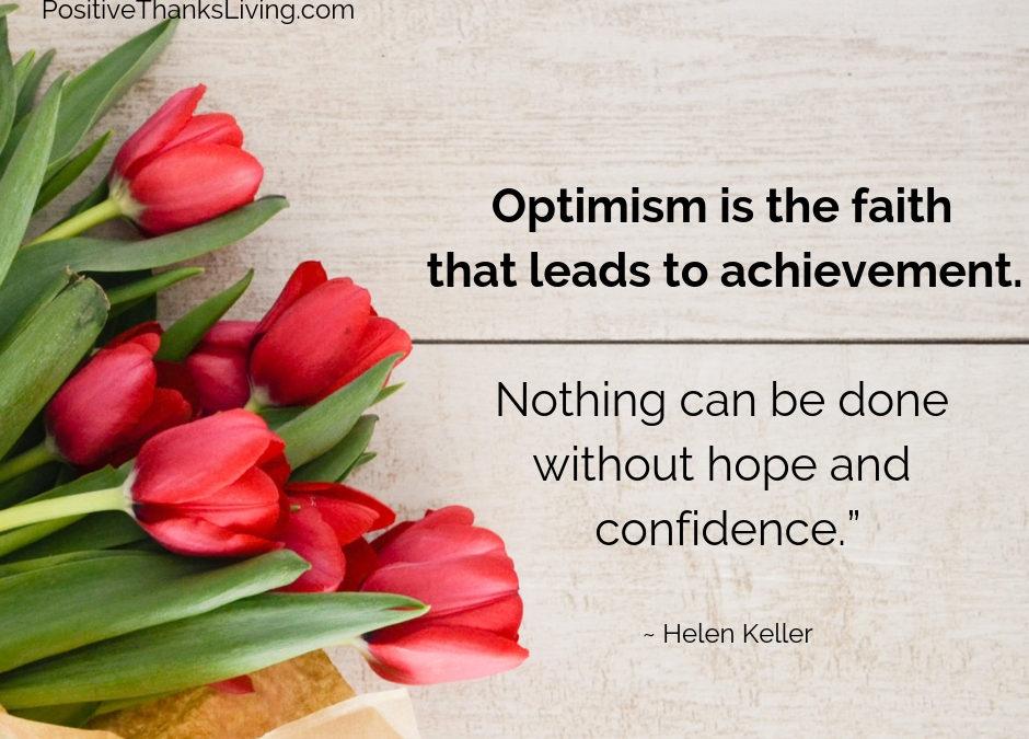 Optimism and  Achievement