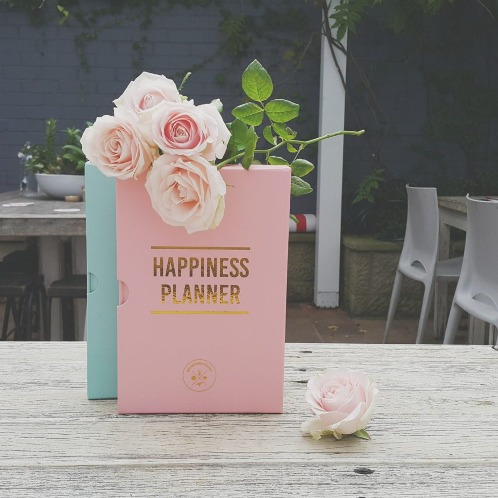 structure your happiness with the 100 days of happiness planner