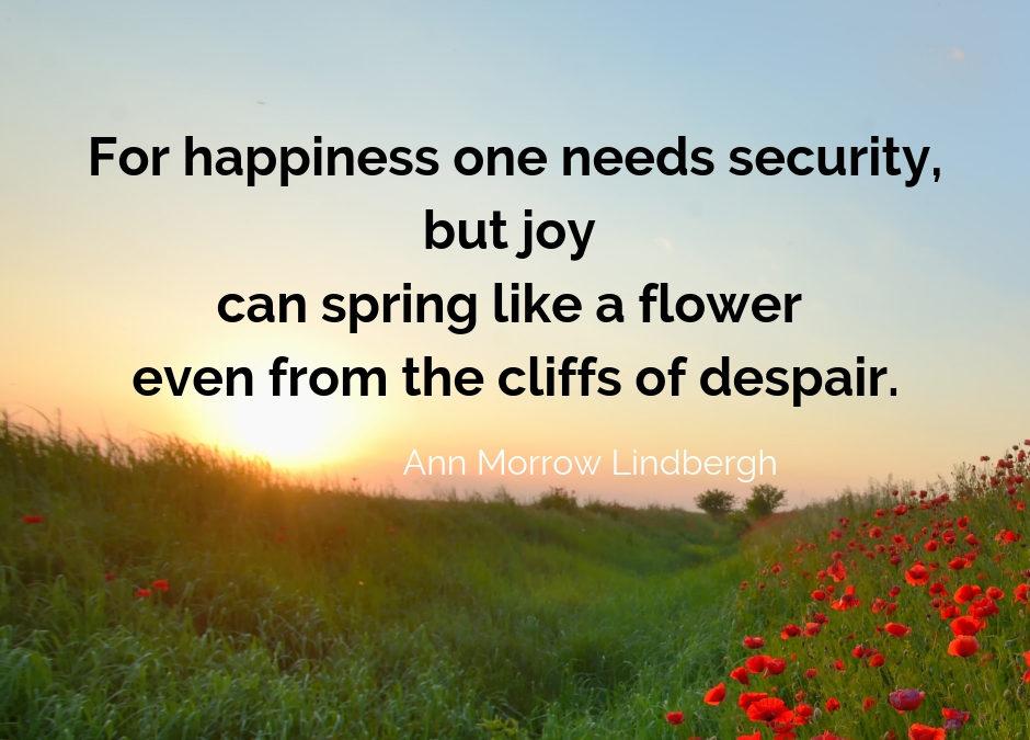 JOY in Despair – It's there!